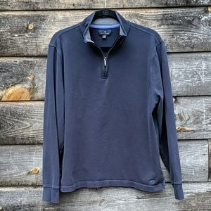 Brooks Brothers Quarter Zip Long Sleeve Shirt